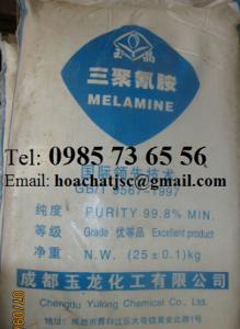 Melamine, C3H6N6