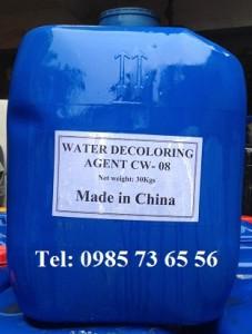 khử mầu nước thải công nghiệp, Waste Water Decoloring Agent