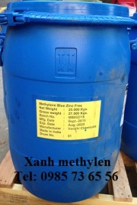 Xanh methylen, Methylene blue, Methylene Blue Zinc Free, C16H18N3SCl