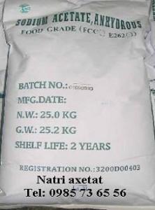 bán Sodium acetate, bán Natri axetat, bán natri acetat, bán CH3COONa