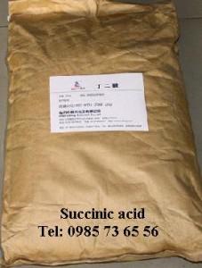 Succinic acid, Axit succinic, C4H6O4