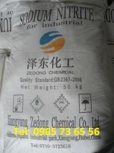 natri nitrit, Sodium nitrite, NaNO2