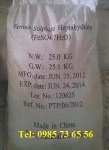 sắt sunphat, sắt sulfate, Iron(II) sulfate, ferrous sulfate, iron(II) sulphate, FeSO4