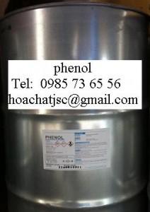 phenol, C6H5OH
