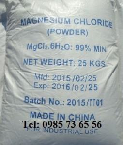 Magie clorua, Magnesium chloride, MgCl2