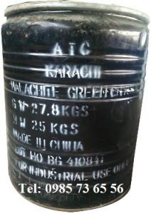 Xanh malachit, Malachite green, Aniline green, Basic green 4, C23H25ClN2