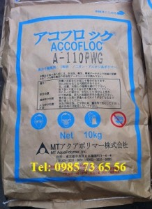 Polimer, Polimer Anionic Nhật, Polymer A-110PWG nhật, Accofloc A-110 PWG nhật