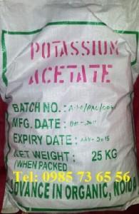 kali axetat , kali acetat, Potassium acetate, CH3COOK