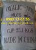 oxalic acid, C2H2O4