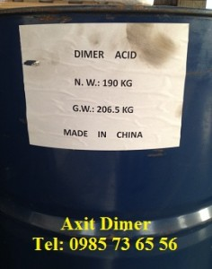 Axit dimer, dimer acid, dimer acid béo, dimer fatty acid, C36H64O4