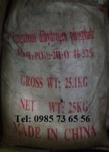 mangan dihydro photphat, Manganese dihydrogen Phosphate, Mn(H2PO4)2