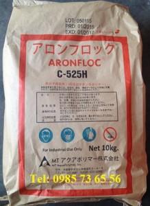 Polymer C525H, Polymer cation C525H, Polyacrylamide, ARONFLOC C-525H Nhật bản
