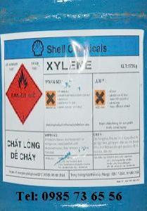 Xylene, C6H4(CH3)2