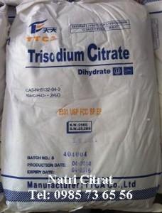 natri citrat, C6H5Na3O7
