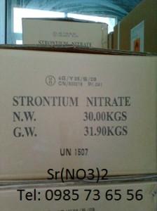 bán stronti nitrat, bán Strontium nitrate, bán Sr(NO3)2