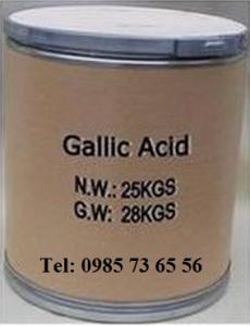 Axit galic, axit Gallic, Gallic acid, Gallate, C7H6O5