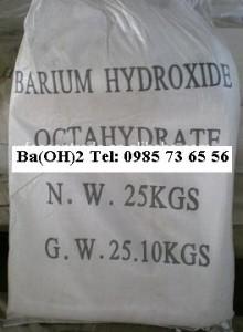 Barium hydroxide, bari hydroxit, Ba(OH)2