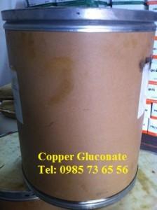 đồng gluconat, Copper Gluconate, C12H22CuO14