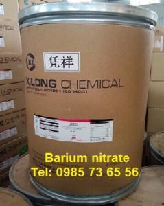 bari nitrat, barium nitrate, Ba(NO3)2