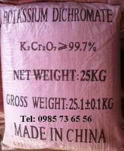 bán Potassium dichromate, bán Kali dicromat, bán K2Cr2O7