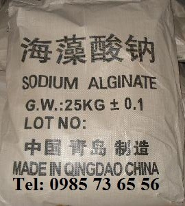 Natri alginat, Sodium alginate, natri anginat, C5H7O4COONa