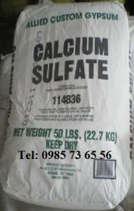 canxi sunphat, Calcium sulfate, calcium sulphate, CaSO4