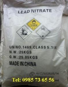 Lead nitrate, Chì nitrat, Pb(NO3)2